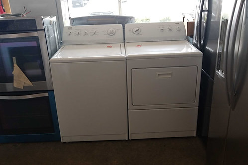 KENMORE ELITE WASHER DRYER SET WORKS GREAT