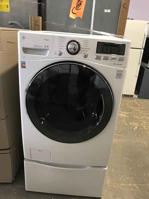 LG brand refurbished frontload washer dryer set works great 60 days warranty.