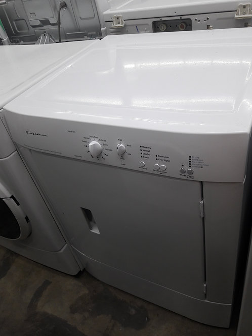 Electric dryer and front load washer stackable