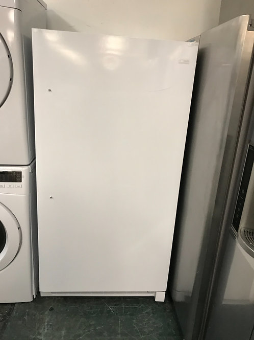 Frigidaire brand new upright freezer works great open box.