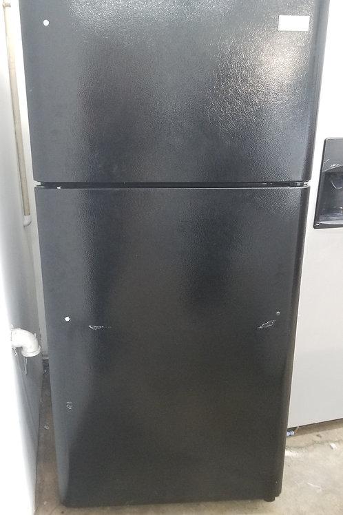"New 30""width Frigidaire top and bottom fridge blac"