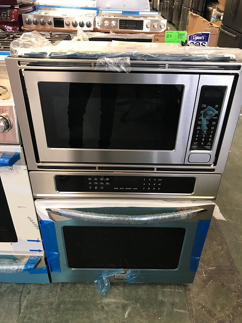 Frigidaire professional brand new open box microwave/oven combination.