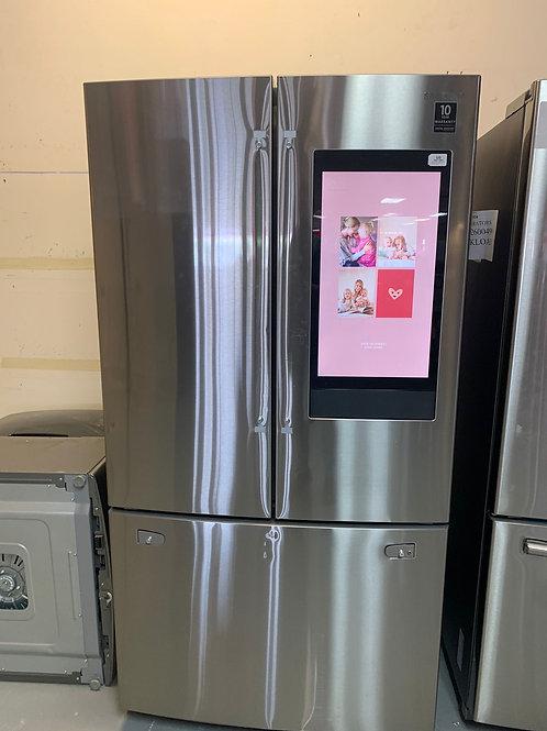 new open box samusng stainless steel fridge family hub