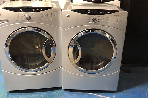 """27""""ge stackable washer dryer great working order with 90 days warranty"""