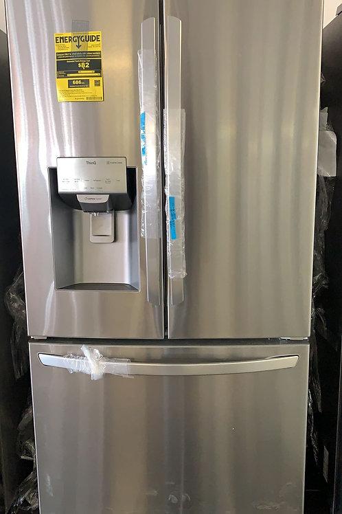 lnew french door fridge stainless stee