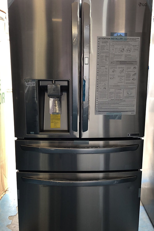"Lg new scratch dent 36""stainless 4door Frenchdoor fridge 1 year warranty"