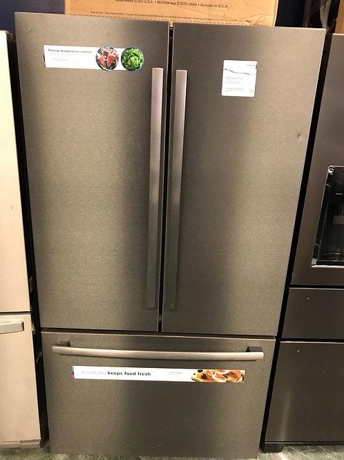 Bosch brand new open box black slate French door refrigerator with warranty.