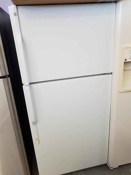 Ge refurbished top bottom fridge.