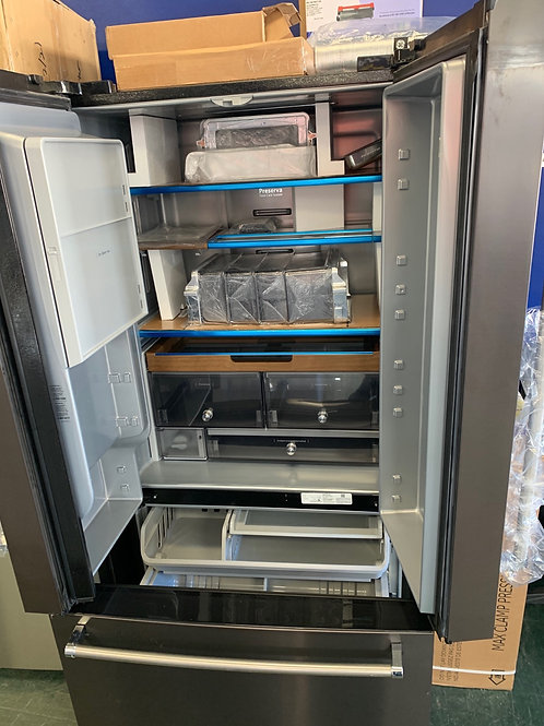 Kitchen aid new open box French door refrigerator with warranty.