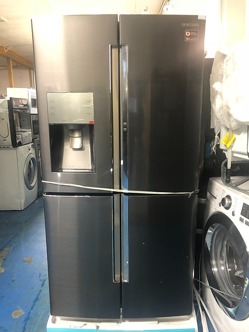 Brand new showcase black stainless 4doors Frenchdoor with 1 year warranty