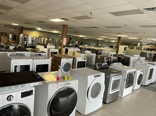 New & Used Washer Dryer Dishwasher Ranges Wall Ovens Microwave Available.