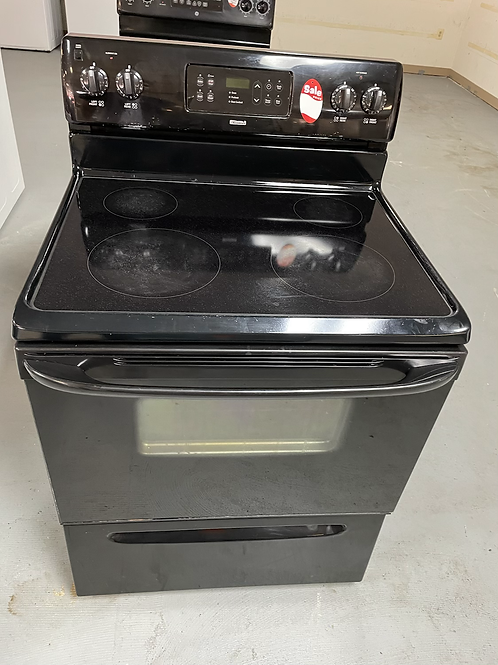 Kenmore refurbished electric glass top stove working condition with warranty