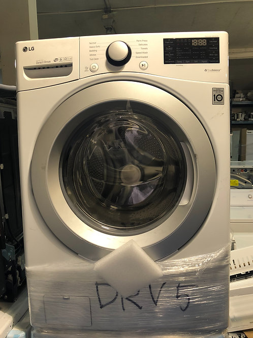 """Lg new scratch and dent 27""""stackable washer with 1 year warranty"""
