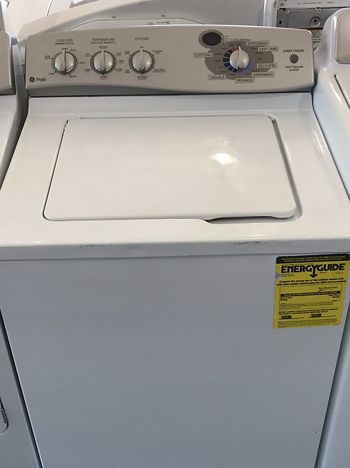 "27""Ge Profile Top Load Washer 90 Days Warranty"