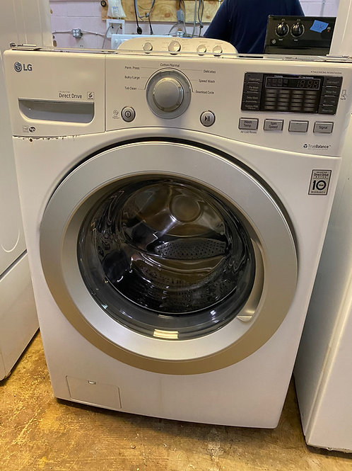 lg front load washer  with warrnty