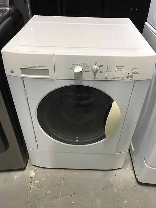Ge brand refurbished stackable dryer works great.