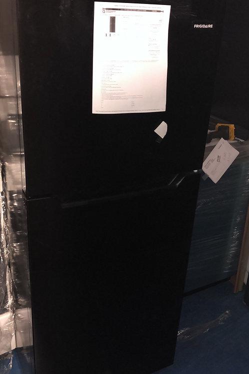 brand new frigidaire black mini top bottom fridge with 1 year warranty