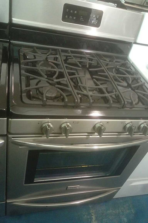Frigidaire gas stove stainless Steel