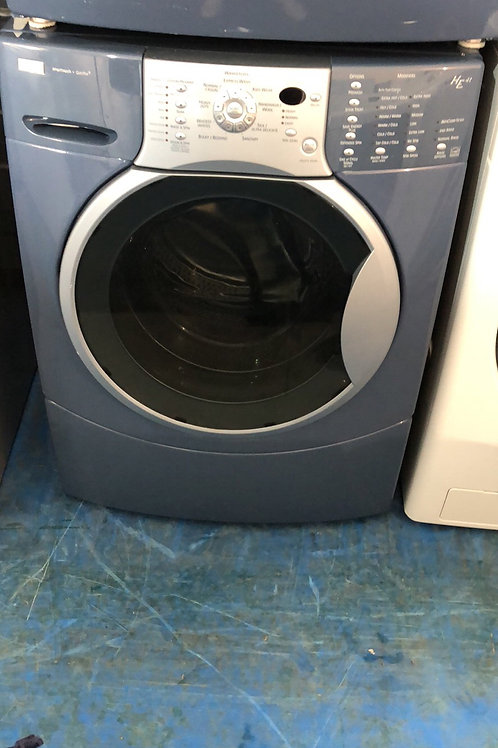"27""Kenmore elite stackable washer dryer with 90 days warranty"