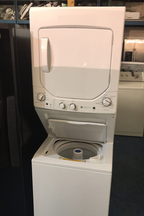 "24""ge Stackunit Washer Dryer Great Working Order With 90 Days Warranty"