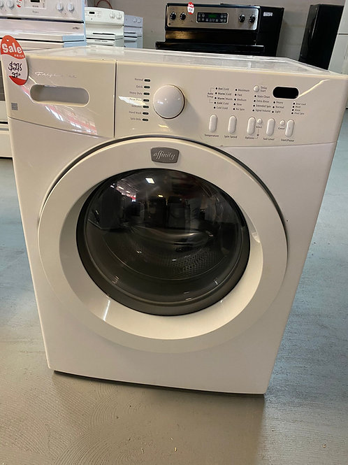 frigdaire front load washer dryr set with warrnty