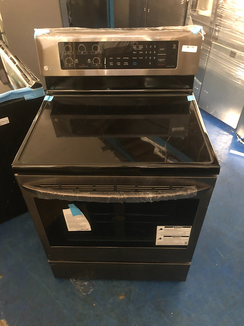 """Brand new 30""""black stainless electric stove with 1 year warranty"""