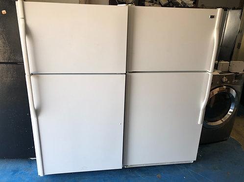 "33""top bottom fridge great working order with 90 days warranty"