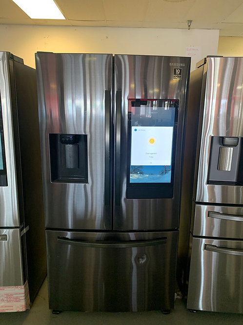NEW36BY69 NEW SAMSUNG FOUR DOOR FRIDGE BLACK STAINLESS STEEL WITH WARRANTY