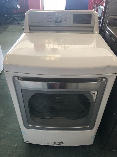 New scratch and dent lg top load washer and electric dryer with 1 year warranty