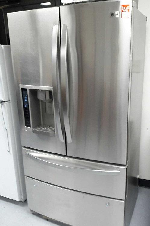 """36""""width LG counter depth fridge 4 doors"""