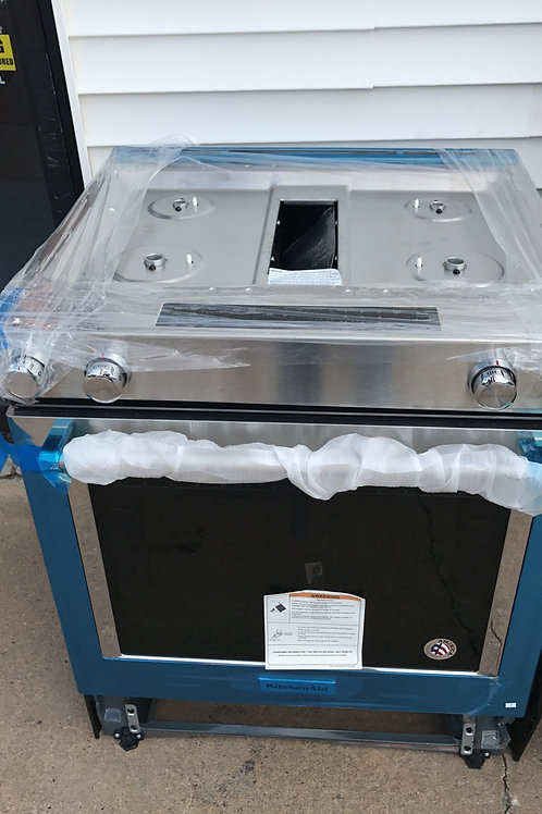 Brand new Slide in gas stove with 1 Year Warranty