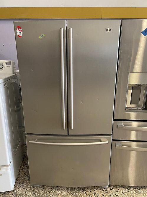 lg french door fridge with warrnty