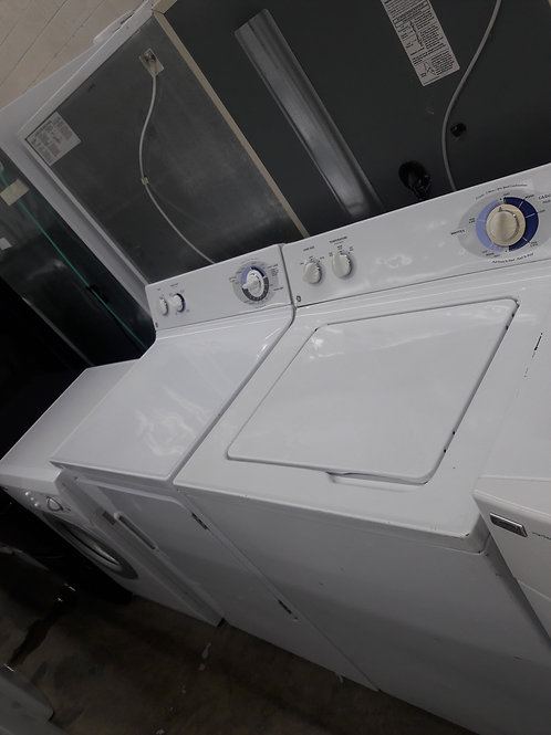 "27""width GE top load washer and dryer set"