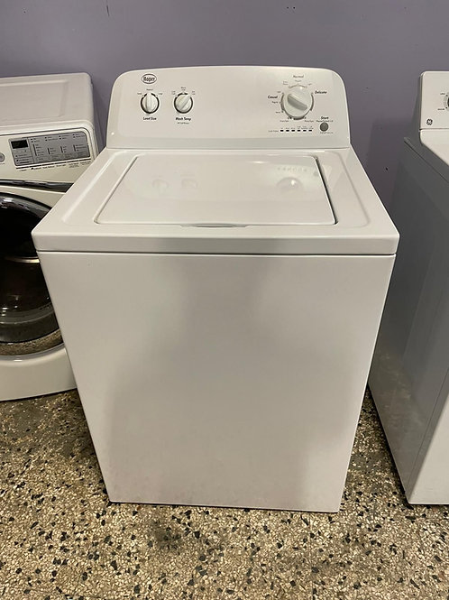 roper top load washer with warrnty