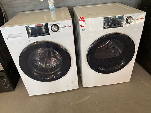 24'' NEW GE FRONT LOAD WASHER AND DRYER ELECTRIC WITH WARRANTY