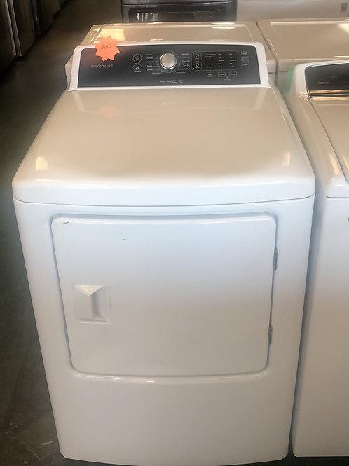 Brand new Frigidaire gas dryer with one year warranty