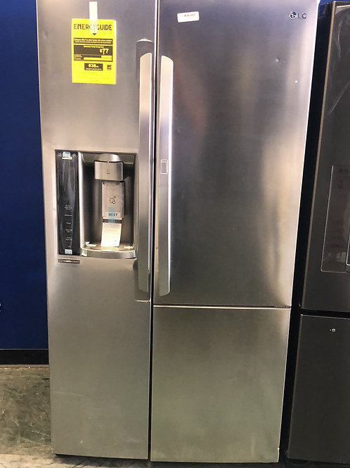 Brand new LG counter depth stainless door in door side by side with 1 yr warrant