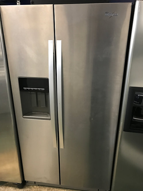 New 36by69 WHIRLPOOL SIDE BY SIDE STAINLESS STEEL