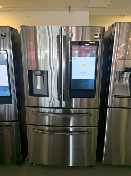 36BY69 NEW SAMSUNG FOUR DOOR FRIDGE STAINLESS STEEL WITH WARRANTY