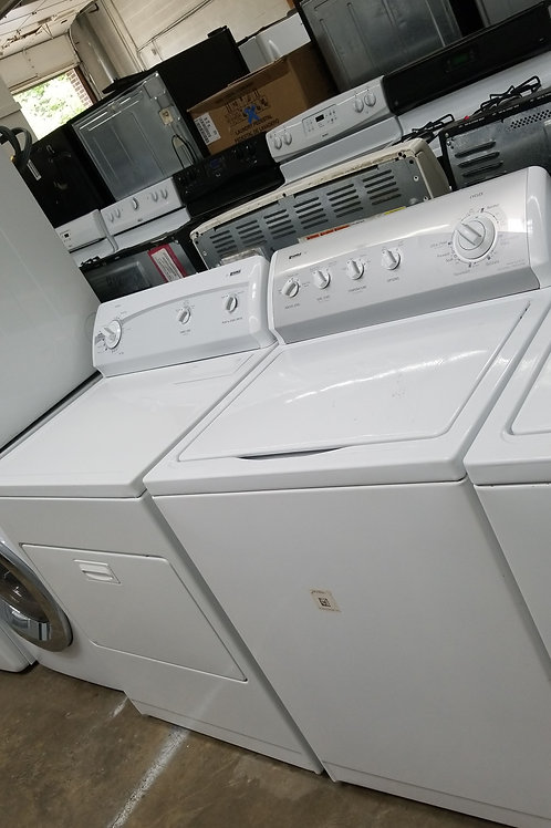 """27""""width Kenmore top load washer and dryer set"""