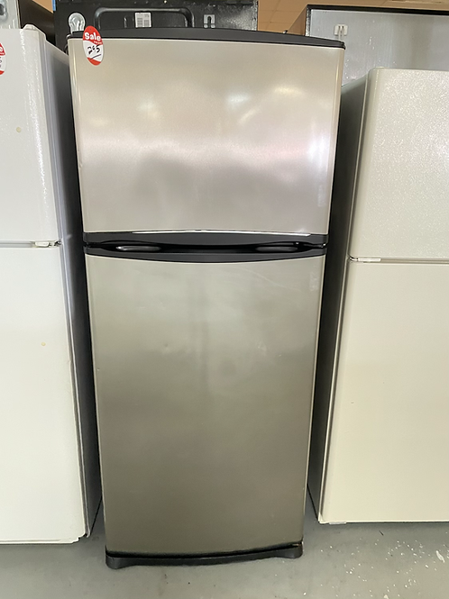 """Whirlpool refurbished 28"""" top and bottom fridge working condition with warranty."""