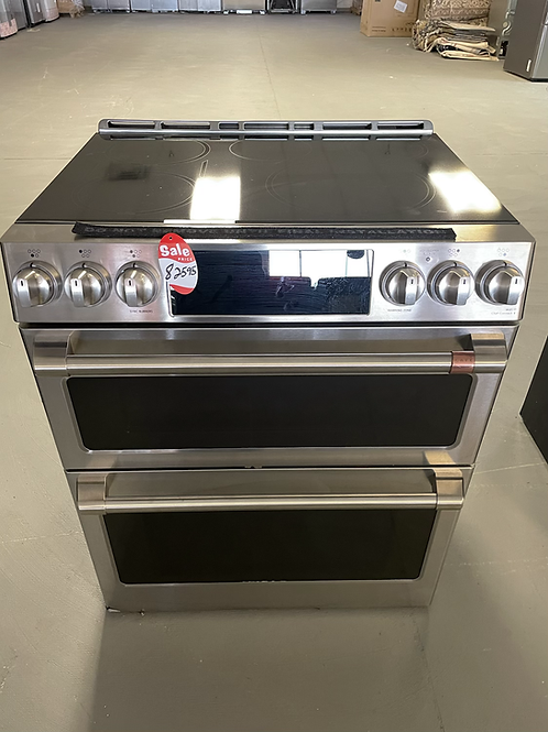 Ge Cafe new open box dual Oven with Wifi and Convection fan.