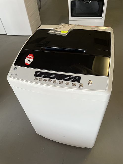 Ge new open box top load washer working condition with warranty.