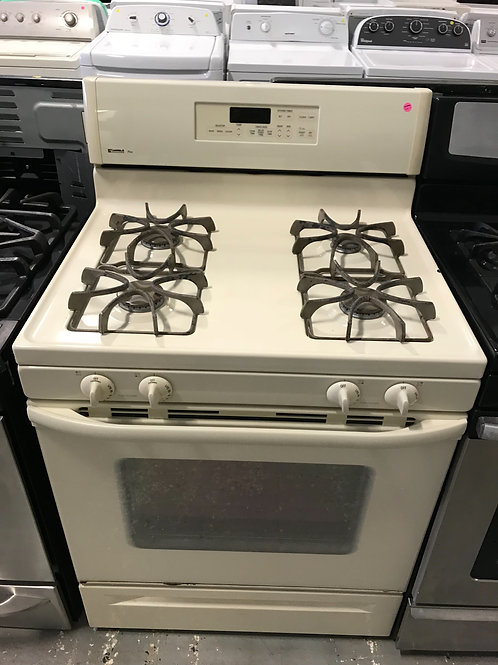 Kenmore Off White Gas Stove 0007