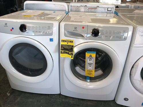 Electrolux brand new open box frontload washer dryer set.