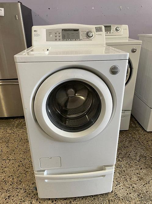lg washer dryr set good workking with warrnty