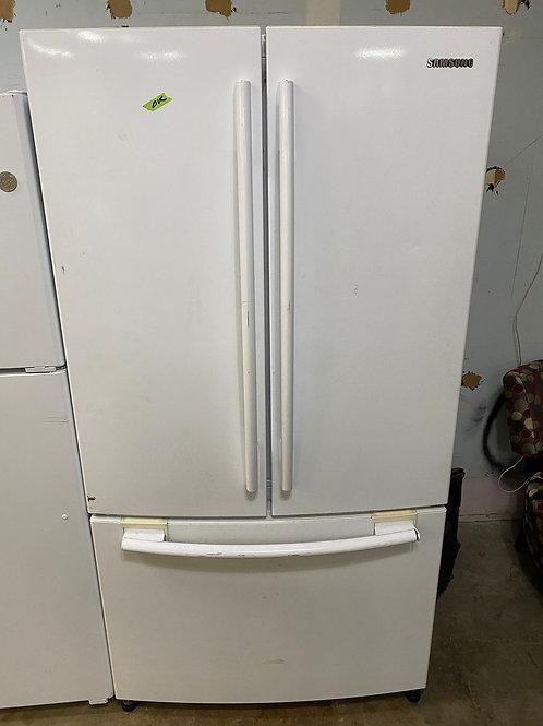 samusng french door fridge with warrnty