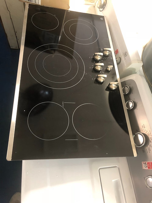 """36""""new open box electric cooktop with 1 year warranty"""