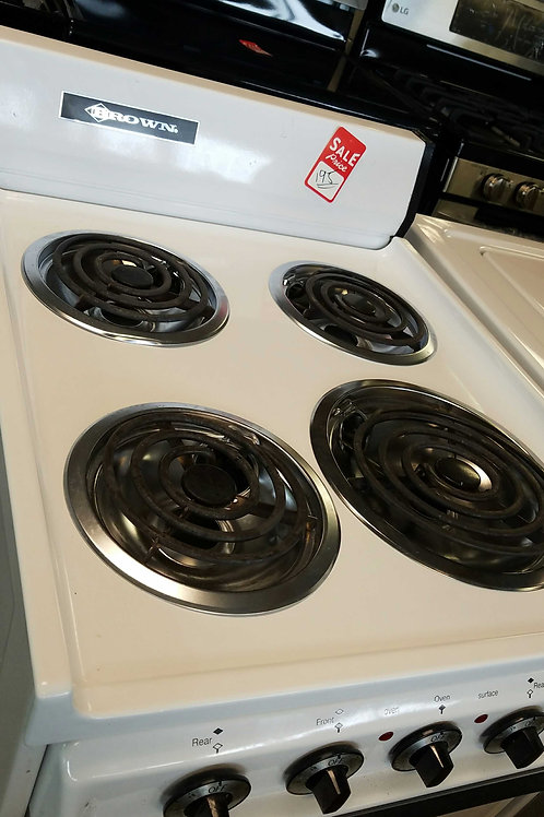 BROWN BRAND COIL ELECTRIC STOVE.