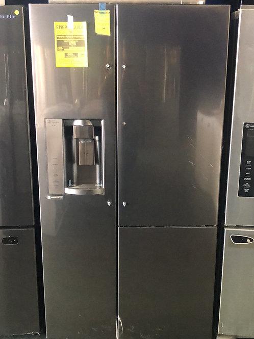 Brand new LG black stainless steel door in door side by side with 1 yr warranty